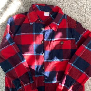 Gymboree fleece shirt Boys 7-8